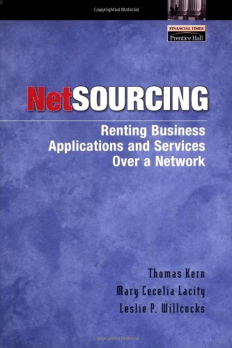 Download Netsourcing: Renting Business Applications and Services Over a Network ebook