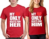Best Special Family Shirt Store Friend T Shirts - H&T Shirt Valentine's Day Special My Heart Beats Review