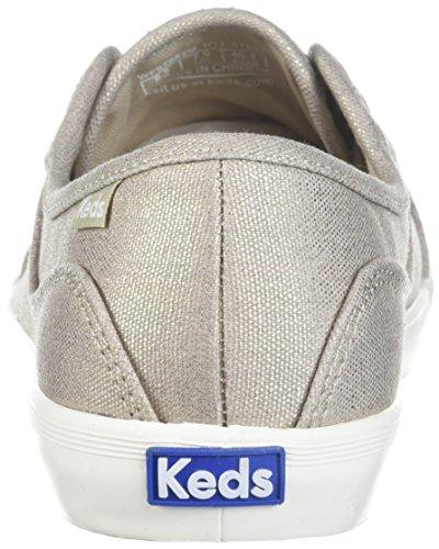 Oro Da Donna Coursa Metallico Sneaker Keds
