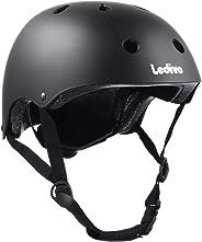 Ledivo Kids Bike Helmet Toddler Helmet Adjustable Kids Helmet for Ages 3-8 Years Boys Girls, Multi-Sport Safety Cycling Skat