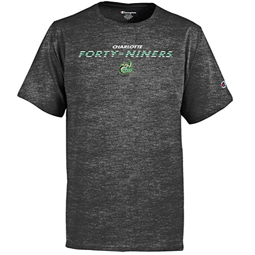 (Champion NCAA Youth Boy's Granite Short Sleeve Jersey Shirt Charlotte 49ers Large)