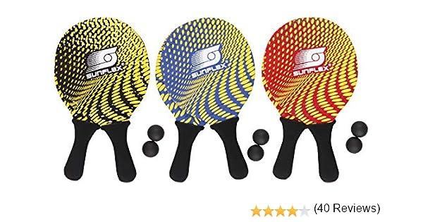 Sunflex 74600 - Juego de 2 Raquetas de Playa (Neopreno), Colores ...