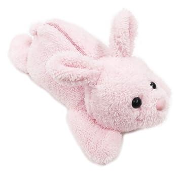 アイプランニング ぬいぐるみペンポーチ ウサギ キッズ かわいい ふわふわボア ねそべり アニマル ペンケース 273B