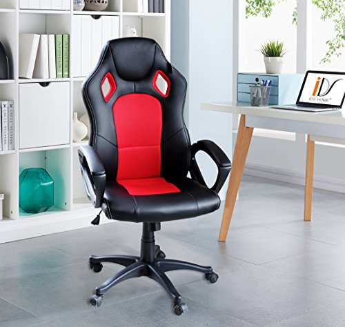 IDS Online MLM-18511 R Home Office Adjustable Racing Chair