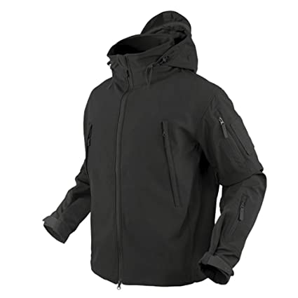 Condor 602-002-XL Summit Soft Shell Jacket Black XL