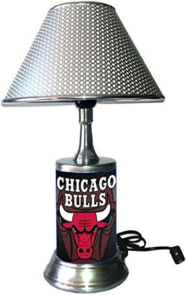 14 NBA Chicago Bulls Single Shade Gameroom Lamp