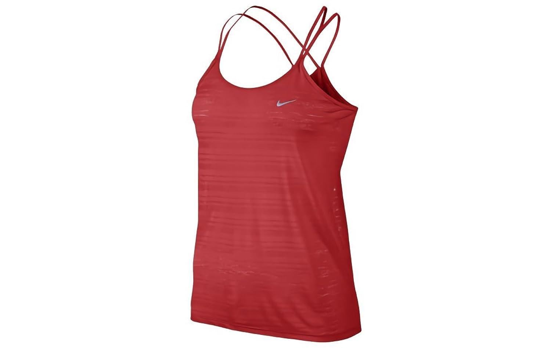 Nike Womens Dri Fit Strappy Tank Top, Red cheap url.ellen.li
