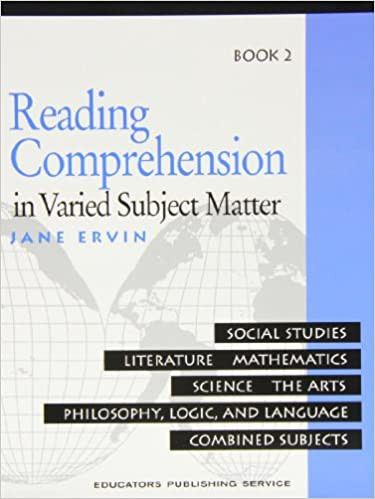Workbook free high school reading comprehension worksheets : Reading Comprehension in Varied Subject Matter: Social Studies ...