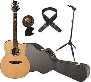 prs guitars se a30e natural acoustic electric guitar w hardshell case locking stand. Black Bedroom Furniture Sets. Home Design Ideas