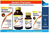 Pharmaton Geraitric Dual Pack for Family (Pack Size 100 & 30 Capsules) Once Daily Multivitamins + Minerals + Ginseng Extract G115 and Lecithin for Prophylaxis of Aged Infirmities, Fatigue, Exhaustion, Ageing Concentration Memory, Optimal Physical and Ment
