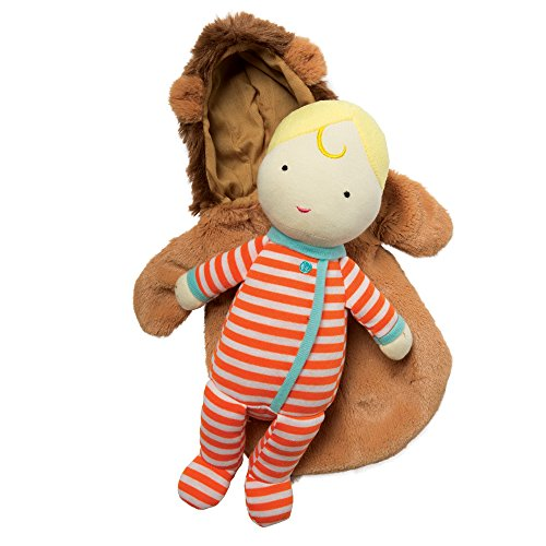 Lion Bunny (Manhattan Toy Snuggle Baby Doll & Hooded Lion Sleep Sack)