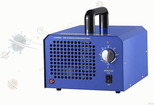 100W Generador de ozono, Comercial Industrial Generador de ozono, 3500-7000Mg / H ozono purificador de Aire de olores en casa, automóvil, y Grandes Habitaciones (90M2): Amazon.es: Hogar