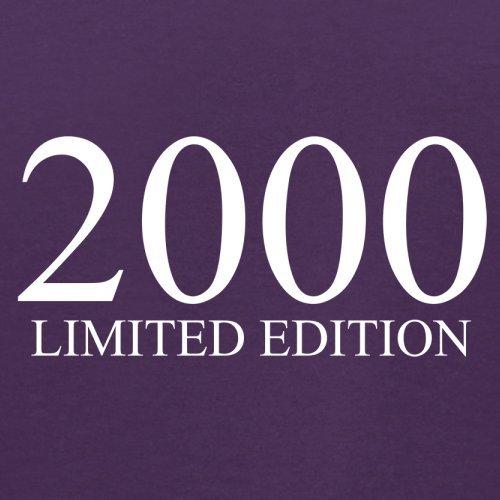 2000 Limierte Auflage / Limited Edition - 17. Geburtstag - Herren T-Shirt - Lila - XXL