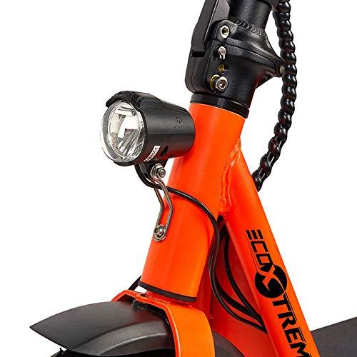 ECOXTREM Scooter eléctrico de Color Naranja, diseño ...