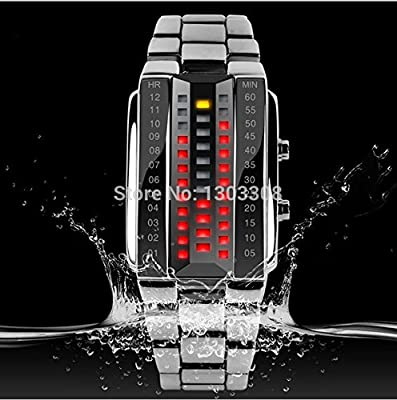 Leisure Fashion Creative Waterproof LED Watches Men's and Women's Individual Character Watches