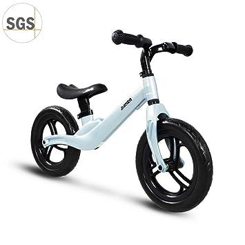 "COEWSKE 12 ""Balance Bike Magnesium Alloy No Pedal Walking Balance Entrenamiento Bicicleta para niños"