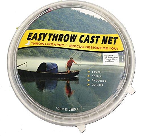 easy throw cast net - 2