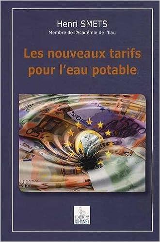 Livre gratuits Les nouveaux tarifs pour l'eau potable epub, pdf