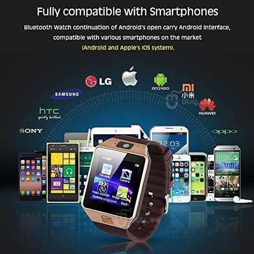 Original DZ09 Smartwatch Phone 3G For Android IOS Bluetooth