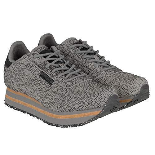 Pearl Donna Grey Sneaker Woden Leather Ii ydun Platform Nora Platform tq1xBX0xwY