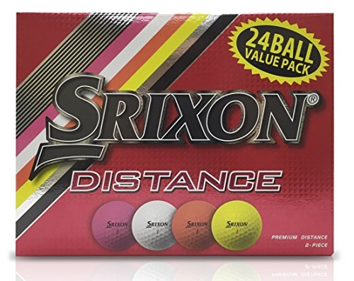 Srixon Distance Golf Balls, Multi-Color (24 Ball (Ultimate Distance Ball)
