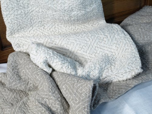 100% Pure Flax Linen Blanket (Bed Sofs)
