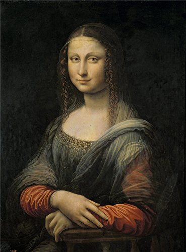 Oil Painting 'Antigua Leonardo Da Vinci (Anonymous Copy) Mona Lisa O La Gioconda First Quarter Of 16 Century' 12 x 16 inch / 30 x 41 cm , on High Definition HD canvas prints, Bath Room, Bed Ro decor