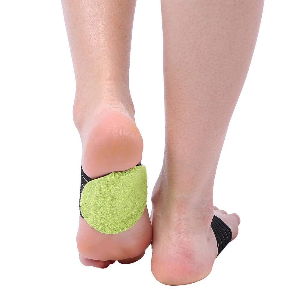 3 pairs New Fashionable Foot Heel Pain Relief Plantar Fasciitis Insole Support Shoes Insert Pads Semme