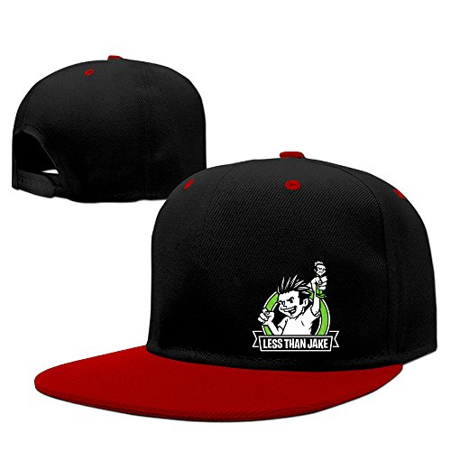 Less Than Jake Band Pezcore Losing Streak Street Dancing Logo Print Collectible Baseball Hat