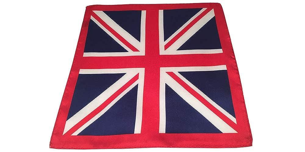 Union Jack British Flag Silk Pocket Square