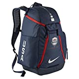 Nike Hoops Elite Max Air 2.0 Team USA Olympics Basketball Backpack BA5280 (Midnight Navy/Midnight Navy/Metallic Silver)