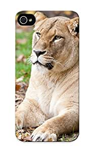 Case Provided For Iphone 5/5s Protector Case Animal Lion Phone Cover With Appearance