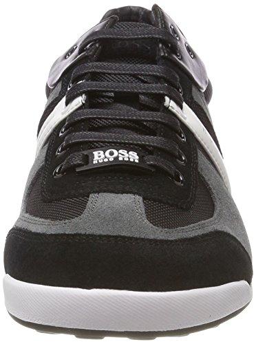 Grey BOSS Herren Grau 068 Sneaker Akeen Open q78wWBT7