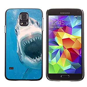 Graphic4You Great White Shark Underwater Animal Design Hard Case Cover for Samsung Galaxy S5