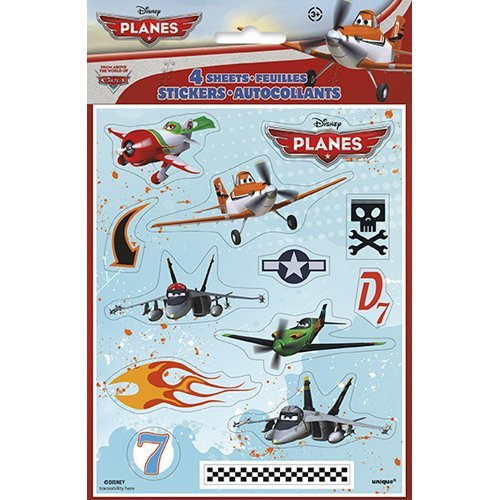 Disney Planes Stickers [4 Sheets Per Pack]