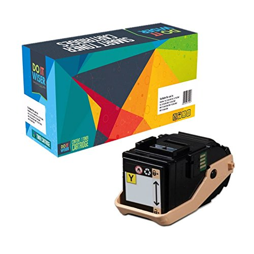 Do it Wiser Compatible Toner Cartridge Replacement for Xerox Phaser 7100 7100N 7100DN Yellow
