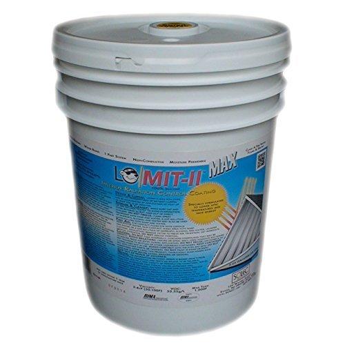 LO/MIT-II MAX Attic Heat Barrier, 5.0 gal (2,000 sqft)
