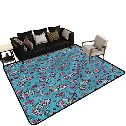 - Paisley,Floor Entrance Rug 36
