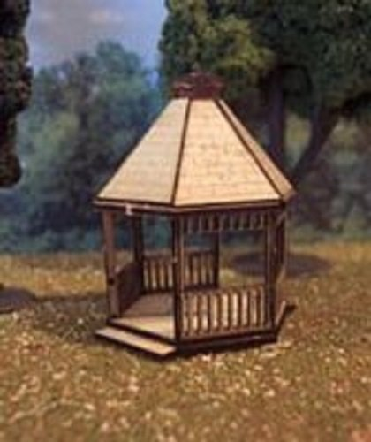 Price comparison product image Osborn Model N Scale GAZEBO Detailed NEW Kit RRA3081