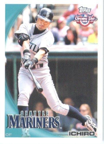 2010 Ichiro Suzuki Rookie Card - 2010 Topps Opening Day Baseball Card # 56 Ichiro Suzuki - Seattle Mariners - MLB Trading Card