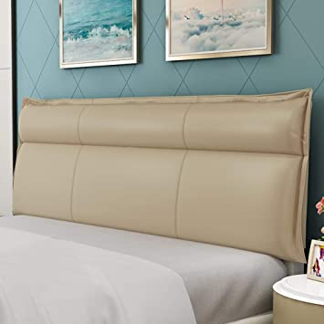 Amazon.com: Cojín para cabecero de cama, cuña, respaldo de ...