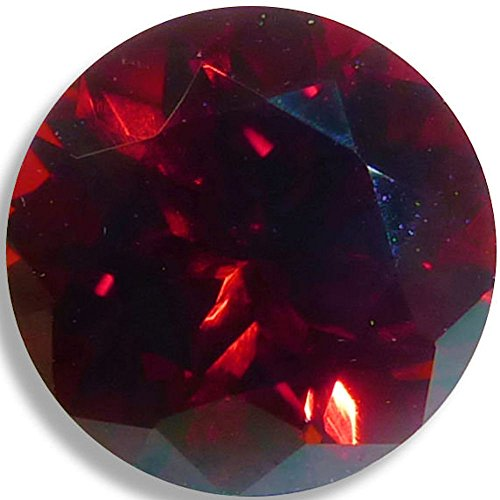 Natural Garnet Red Round Brilliant Loose Unset Gem (4mm) by Optima Gem