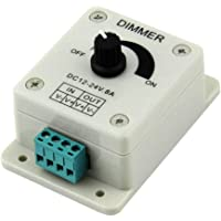 Dimmer Dc 12V 8A Led Light Protect Strip Controlador de brilho ajustável de Dimmer para lâmpada Led Strip Acessórios…