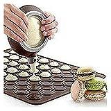 Einfachheit Macaron Macaroon Baking Set 30/48 Capacity Baking Sheet+Decorating Pot+Nozzles (30 Capacity)