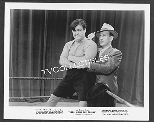 8x10 Photo~ Abbott and Costello Here Come The Co-EDS ~Bud Abbott ~Lou Costello