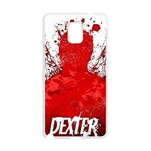 Samsung Galaxy Note 4 phone case White Dexter Blood FFFP2660597