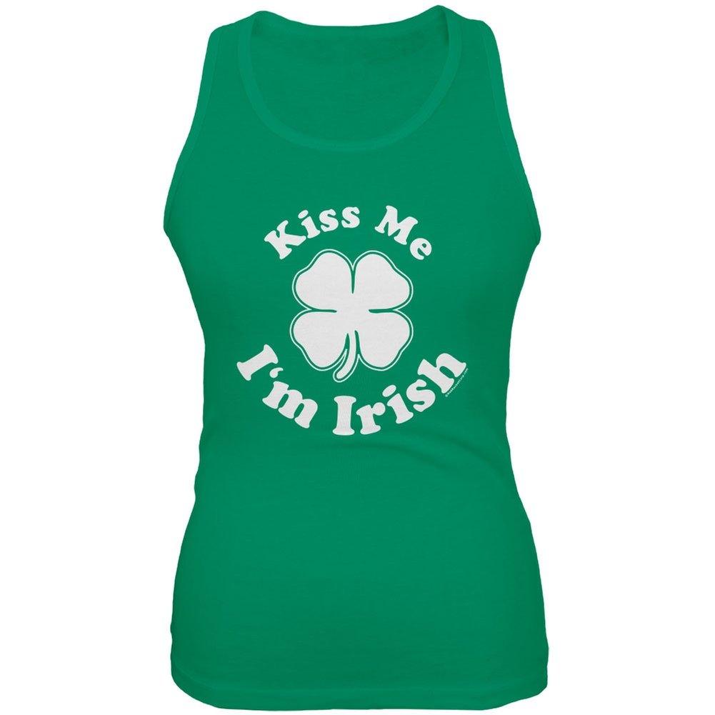 St Patrick/'s Day Kiss Me I/'m Irish Juniors Tank Top