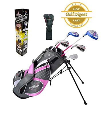 Paragon Rising Star Girls Kids Golf Clubs Set / Ages 5-7 Pink With Free Golf Gift