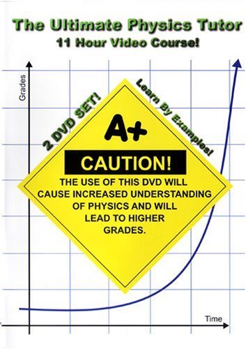 The Ultimate Physics Tutor - 11 Hour Course! - 2 DVD Set! - Learn By Examples!