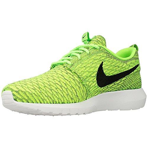 Nike Flyknit Rosherun Roshe Run Men Casual Sneakers Volt